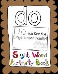 Sight Word Activity Books!