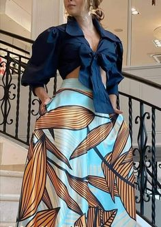 Classy Outfits, Cool Outfits, African Dresses For Women, African Print Fashion, Cute Fashion, Blouse Designs, Jeans, Spring Outfits, Casual Wear