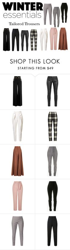 """Winter Essentials #74"" by bonittarebecca ❤ liked on Polyvore featuring RED Valentino, Yves Saint Laurent, Delpozo, MaxMara, Zimmermann, Balmain, Topshop and WtR London"
