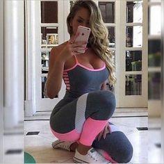 Women s YOGA Workout Pants - Gym Fitness Leggings Workout Pants 53598945aa1