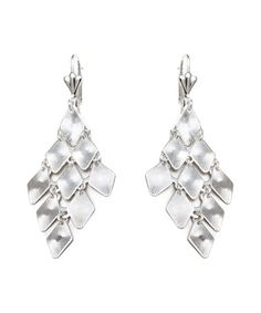 Another great find on #zulily! Silver Chandelier Drop Earrings #zulilyfinds
