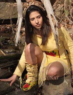 WOMAN - Native American Indian
