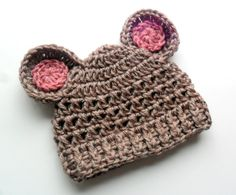 Hey, I found this really awesome Etsy listing at http://www.etsy.com/listing/96970385/baby-girl-hat-crochet-baby-hat-crochet