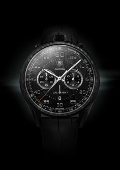 TAG HEUER - Concept Chronographe Carrera Carbone Calibre 1887