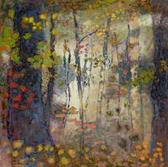 Breathing Light oil on canvas | 48 x 48"