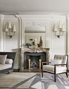 Neoclassical interior 3dddru modern classic