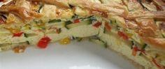 Slana torta od tikvica i paprika — Coolinarika Lasagna, Quiche, Zucchini, Pizza, Sandwiches, Tacos, Good Food, Food And Drink, Menu