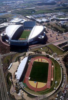 Sydney Olympic Park, Homebush, NSW, built for the 2000 Olympics