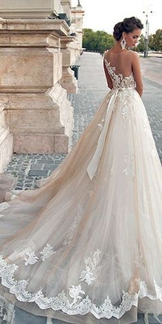 Mila Nova Wedding Dresses Collection 2016 ❤ Milla Nova 2016 gowns collection celebrates the romanticism and sensuality of brides in love. See more: http://www.weddingforward.com/mila-nova-wedding-dresses/ #wedding #dresses