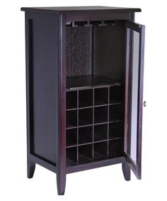 Bridgeport 16-Bottle Wine Cabinet - Wine Racks at Hayneedle