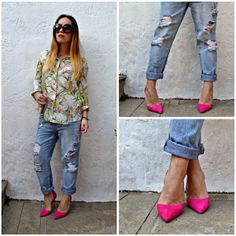 0bf3b2a478e Η Irene, Blogger από το Fashion Framed, με γόβες #SanteShoes από τη νέα