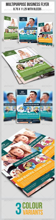 Multipurpose Business Flyer generic flyer template perfectly use for multipurpose businesses.