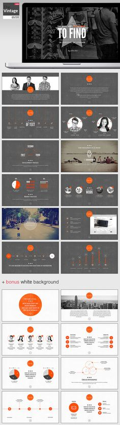 TheVintage Keynote Template - Presentation Templates