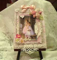 Bobbij's Gallery: Shabby Chic Canvas