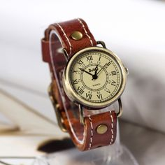 Stan vintage watches — Retro Leather Watch Vintage Style Wrist Watch