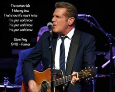 Our world will never be the same again #RIPGlennFrey #Eagles