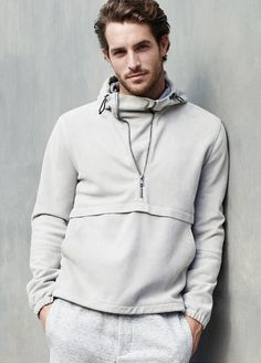 e87ca0dc3e80ef Athletic   sportswear  jogger pant  anorak hooded jacket Justice Joslin for  Vince
