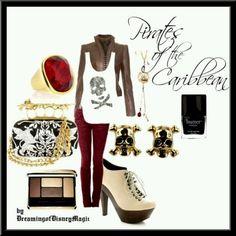 Pirates of the Caribbean Fashion