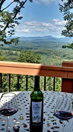 Wine + North Georgia Mountains = Perfection.  So many summers spend at Grandma's, gotta go back soon