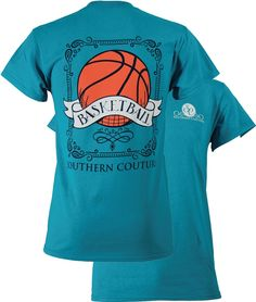 Southern Couture Basketball Tee