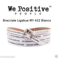 We Positive Ligabue Bracciale L amore conta