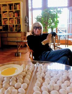 Artist Nicola L has lived in the Chelsea Hotel for 23 years.  Her documentary about the Chelsea Hotel, told from the point of view of the hotel itself, opens May 13, 2013.