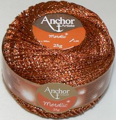 Anchor Arista has been rebranded Anchor Artiste Metallic perfect for home decoration clothing and fashion accessories 80 Viscose 20 Metalized