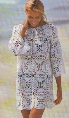 FALDAS Y VESTIDOS A CROCHET   Patrones Crochet, Manualidades y Reciclado