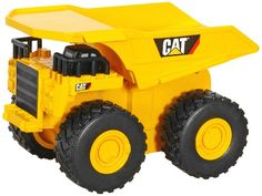 Toy State Caterpillar Push Powered Rev It Up Dump Truck Caterpillar Toys, Buy Toys, Dump Trucks, Tractors, Monster Trucks, Cats, Vehicles, Amazon, Construction