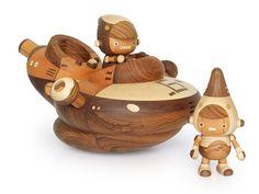 take-g handcrafted wooden crafts created by Takeji (Take-G) Nakagawa.