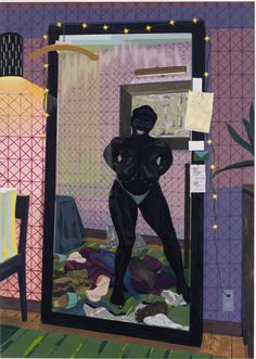 AADAT! » Buy Art Online -Kerry James Marshall, Look See, at David Zwirner (Oct 11 - Nov 22)