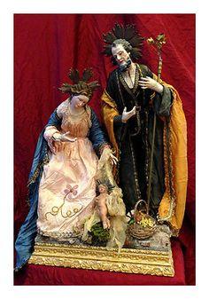 Nativity , neapolitansacredart , Presepe Napoletano