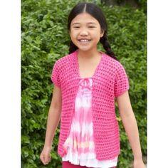 Free Intermediate Child's Vest Crochet Pattern