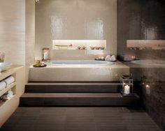 Bathroom via Valencia Coverings