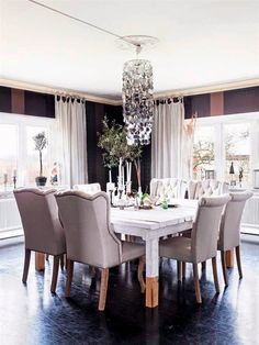 The Appeal of Outstanding Dining Room for Formal Dinner - homemili Dinner Room, Formal Dinner, Dining Chairs, Kitchen, Wonderland, Death, Furniture, Home Decor, Dining Room