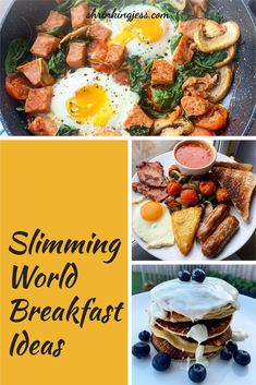 Check out these great Slimming World breakfast ideas. Fantastic Slimming World fry up, syn free breakfast hash and Slimming World pancakes. These are oat pancakes and are syn free until you add the toppings. Check out my blog for loads more Slimming World recipes including breakfast recipes. Syn Free Breakfast, Breakfast Hash, Breakfast Ideas, Breakfast Recipes, Slimming World Pancakes, Slimming World Breakfast, Slimming World Recipes, Vegetarian Breakfast, Vegetarian Dinners