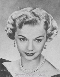 1950s hairstyles women