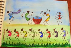 Warli celebrations!