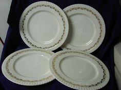 Lenox, China dinnerware Lonsdale, Pattern #0315 Era 1938 (4) Dinner Plate