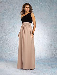 Alfred Angelo bridesmaid style 7343L-Diamond Bride has this style in store! http://www.diamondbrideinc.com/