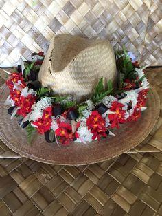 Hawaiian Leis, Graduation Leis, Island Life, Hula, Garlands, Floral Wreath, Wreaths, Crafty, Sweet