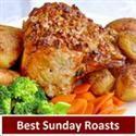Several different roasts.  pork, beef & chicken
