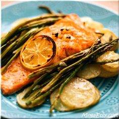 A delicious and simple way to dress up salmon to create a scrumptious dinner that goes perfectly with summer weather!