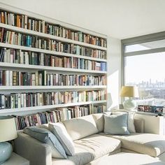 Perfectly lit booknook