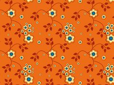 Marigold Floral by clairyfairy. Bedding in organic cottons. Cushions in linens. Upholstery in heavy duty twill.