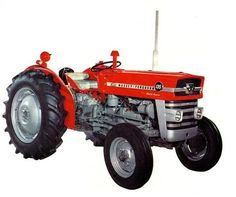Massey Ferguson 35 135 Tractor Decal Service Daily