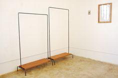 HKW アイアンハンガーラック : hiro-furniture