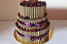 ovocný svatební dort - dortyodradky Brno