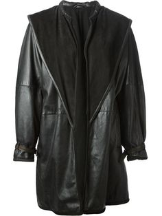 Shop Gianni Versace Vintage oversized coat in A.N.G.E.L.O Vintage from the world's best independent boutiques at farfetch.com. Over 1000 designers from 300 boutiques in one website.