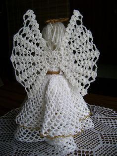 Moje szydełko - Anna Woźniak - Picasa Web Albums Crochet Eyes, Crochet Angels, Thread Crochet, Crochet Yarn, Crochet Stitches, Crochet Snowflake Pattern, Vintage Crochet Patterns, Crochet Designs, Crochet Doilies